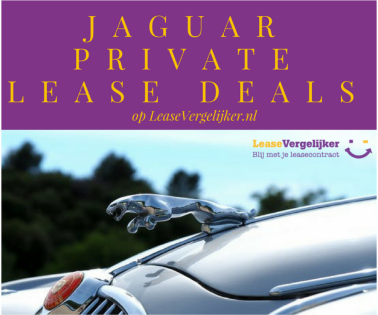Jaguar private lease deals LeaseVergelijker